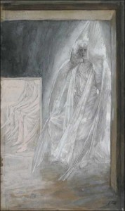 tissot-the-angel-seated-on-the-stone-of-the-tomb-438x737